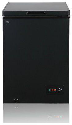 Bush BCF99L Chest Freezer A+ Black
