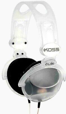 New Koss CL/20 Clear Stereophone Over-Ear Headphones - Free Shipping