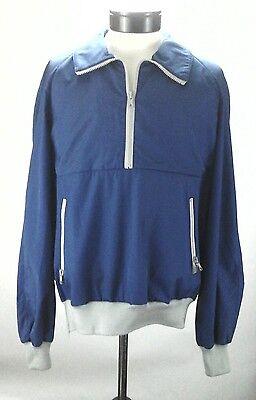 Winter Jacket OSSI SKIWEAR Pullover Blue/Gray SNOWBOARD SKI Vintage Men's L