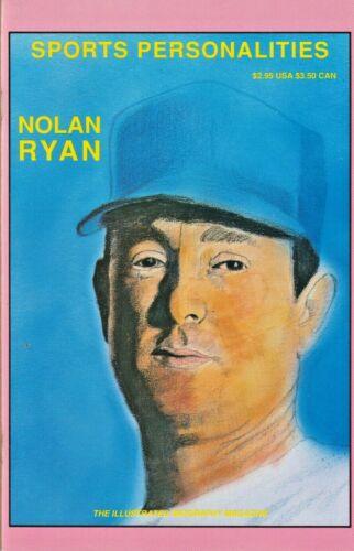 SPORTS PERSONALITIES #2  NOLAN RYAN  PERSONALITY 1991 NICE!!!