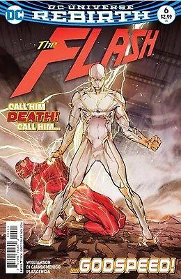 FLASH #6 (2016) DC COMICS GODSPEED 1st Print Cover A NM