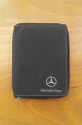 MERCEDES A / C / CLK / ML / S CLASS Handbook / Owners Manual Wallet - Genuine