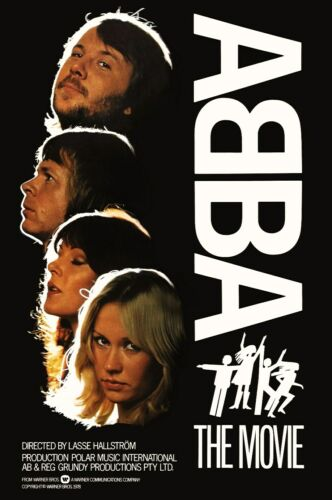"ABBA ""ABBA The Movie"" 24 x 36 Reproduction Poster - Rock Concert Collectibles"