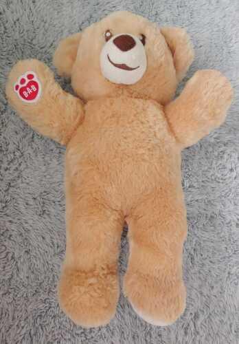 "Build A Bear Workshop Classic Teddy Light Brown Plush Stuffed Animal Toy BAB 15"""