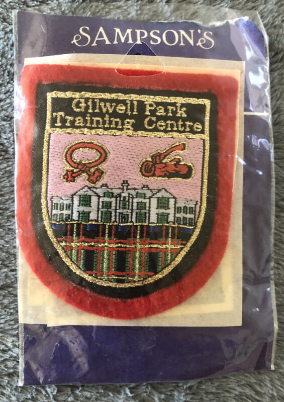 Boy Scouts Gilwell Park Training Centre UK Patch In Original Packaging