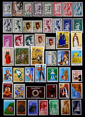 MOROCCO: 1950'S - 70'S STAMP COLLECTION WITH SETS MANY UNUSED