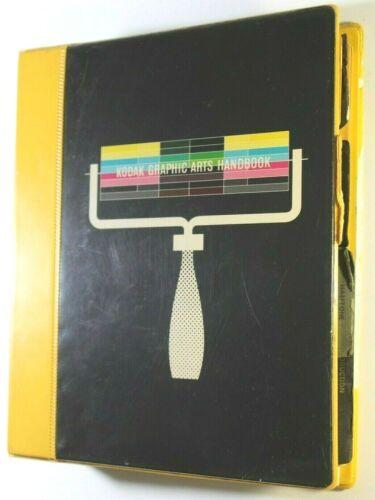 Eastman Kodak Graphic Arts Handbook,1963-69 Spiral Bound, Photography Developing