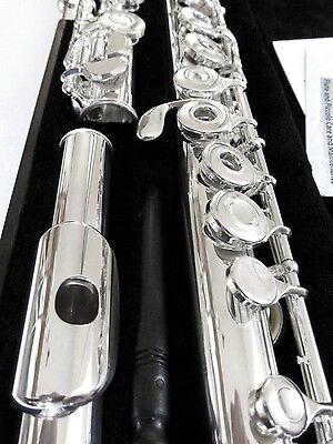 NEW Gemeinhardt 3OSHB Silver Flute Open-Hole, B-foot, Offset G 30SHB
