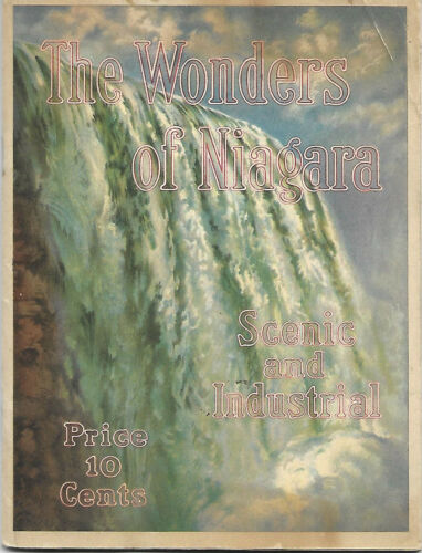 c1915 WONDERS of NIAGARA FALLS SHREDDED WHEAT COMPANY NABISCO Plant Machinery