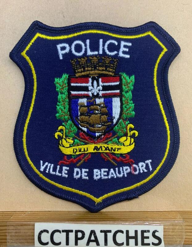 VILLE DE BEAUPORT, CANADA POLICE SHOULDER PATCH