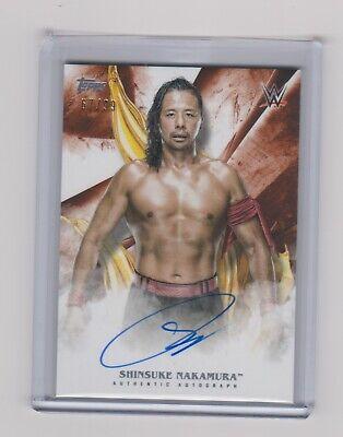Shinsuke Nakamura 2019 Topps WWE UndisputedAutograph /99 for sale  Sussex