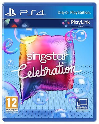 SingStar Celebration - Playlink Sony Playstation PS4 Game 12+ Years