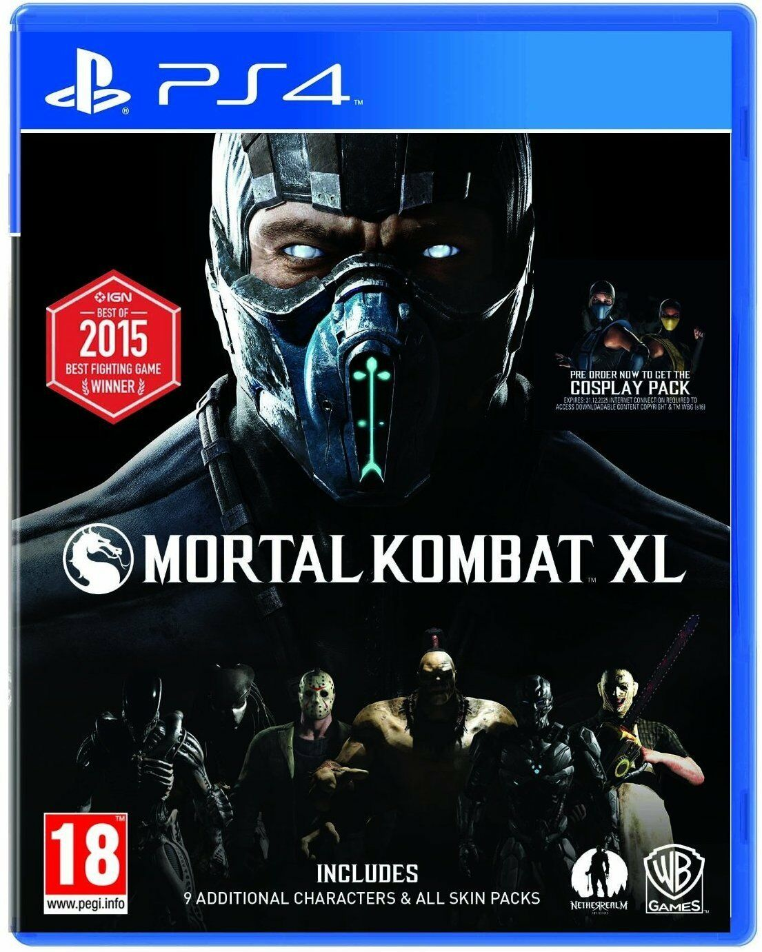 $28.79 - Mortal Kombat XL PS4 Sony PlayStation 4 Brand New Factory Sealed