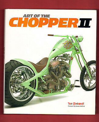 Tom Zimberoff, Art Of The Chopper II, Signed for sale  Riverside