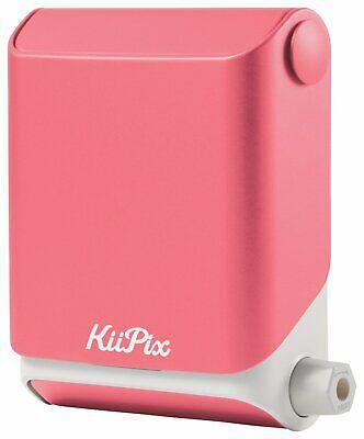Tomy KiiPix Instant Smartphone Photo Printer - Pink