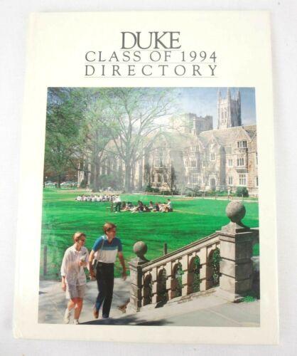 Duke Class of 1994 Directory Yearbook