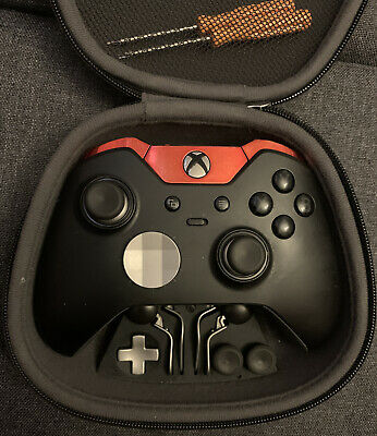 Microsoft Xbox One ELITE Wireless Gaming Controller - Black & Red