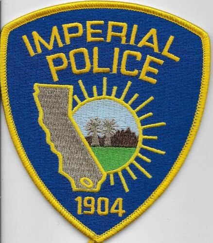 Imperial Police State California CA