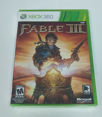Fable III 3 (Microsoft Xbox 360/Xbox One, 2010) Brand New Sealed