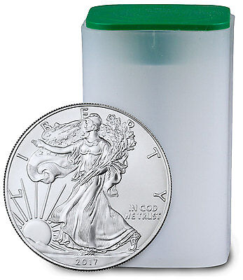 2017 1 Troy oz. American Silver Eagle - Roll of 20 Coins SKU44365