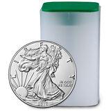 Roll of 20 Coins - 2018 American Silver Eagle $1 GEM BU Coin SKU51559