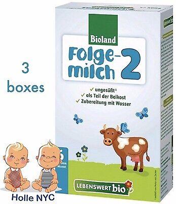 Holle Lebenswert Stage 2 Organic Formula,3 BOXES,500g 08/2020 FREE SHIPPING