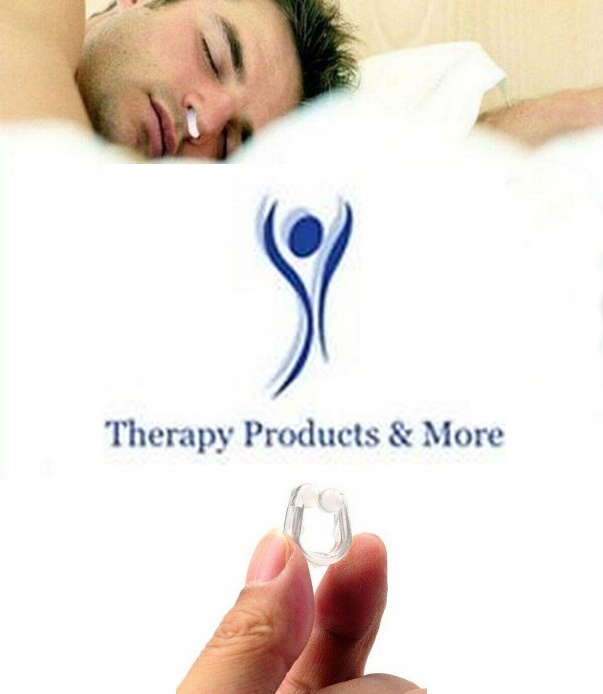 2 Stop Snoring Nose Clips Anti Snoring Silicon Nose Sleep Ai