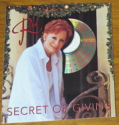 Vintage Secret of Giving Reba McEntire Music CD and Christmas Card Set (1999)