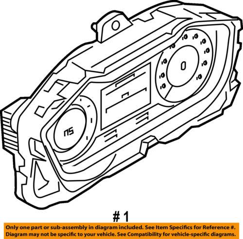 Audi Oem 2016 Tt Quattro Instrument Panel Dash Gauge Cluster