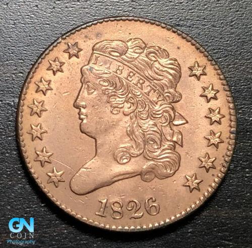1826 Classic Head Half Cent --  MAKE US AN OFFER! #B3439