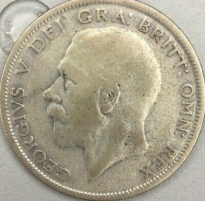 1930 British Silver Half Crown