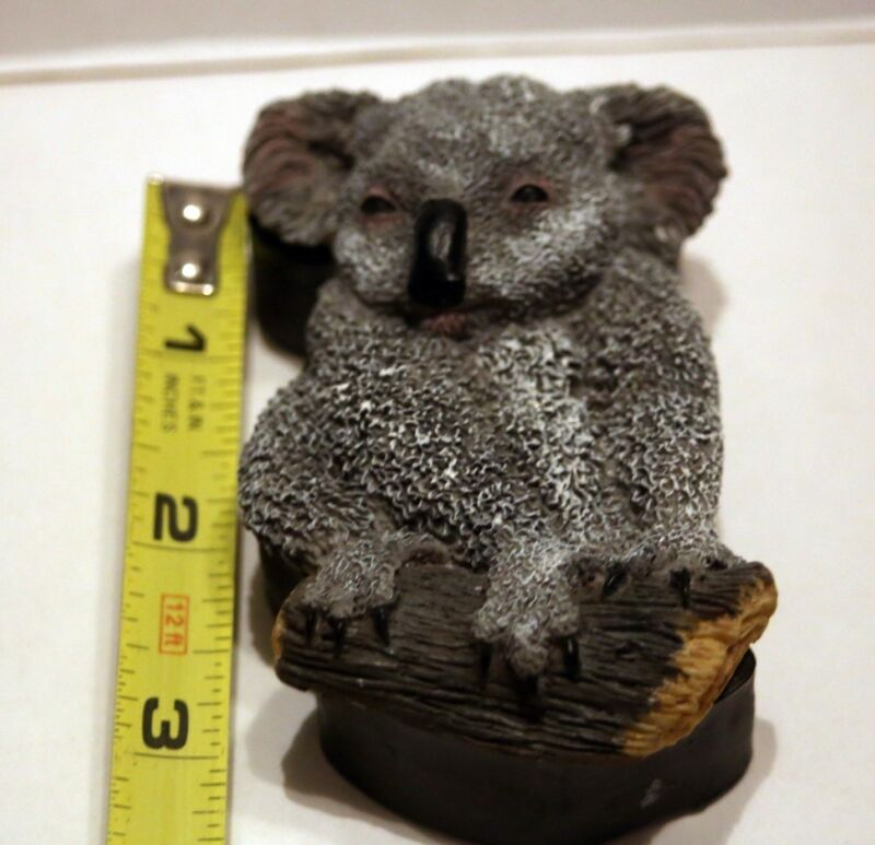 World Wildlife Fund Koala trinket box, rare