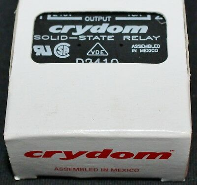 Crydom Ir Intenational Rectifier D2410 Solid State Relay