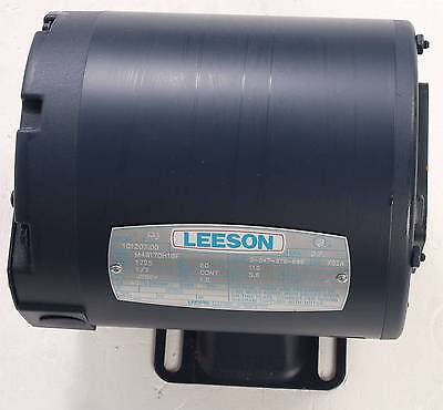 New M4s17dh16f Leeson 13hp Electric Motor 1725rpm Cat 101207.00 Single Phase