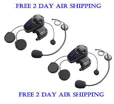 Sena SMH10D-11 Motorcycle Bluetooth Headset Intercom DUAL Pack