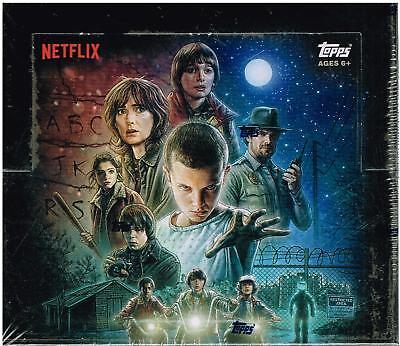2018 Topps STRANGER THINGS Netflix Series Trading Cards 24pk Retail Display Box