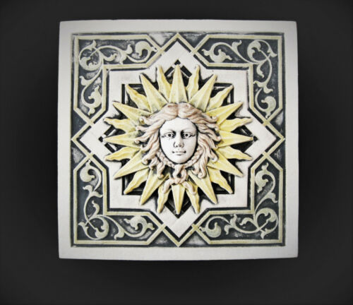 APOLLO  SUN    ARTS & CRAFTS  GOTHIC  ELLISON TILE