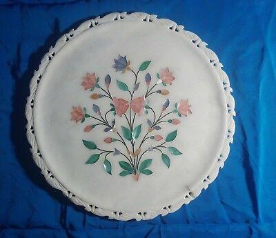 Декоративные тарелки Vintage alabaster with mother