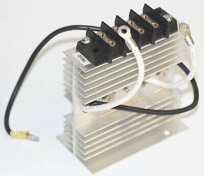 Vintage Aluminum Heatsink Junction Block Terminals - 500w Power Supply Motorola