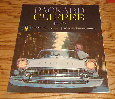 Used, Original 1957 Packard Clipper Deluxe Sales B