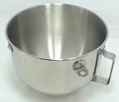 KitchenAid Mixer 5 QT S.S. Bowl w/handle KN25PBH, 9707678, W10716820