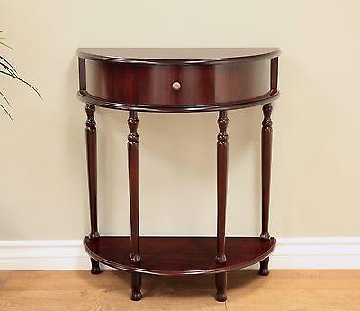 تربيزه جديد Frenchi Home Furnishing End Table/Side Table Espresso Finish CONSOLE TABLE