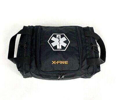 X-fire Emsemt Empty First Responder Trauma Bag 12 X 8 X 5.5 - Black