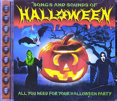 SONGS AND SOUNDS OF HALLOWEEN 76 SOUND EFFECTS & CLASSIC PARTY MUSIC (UK IMPORT) - Halloween Songs And Sounds