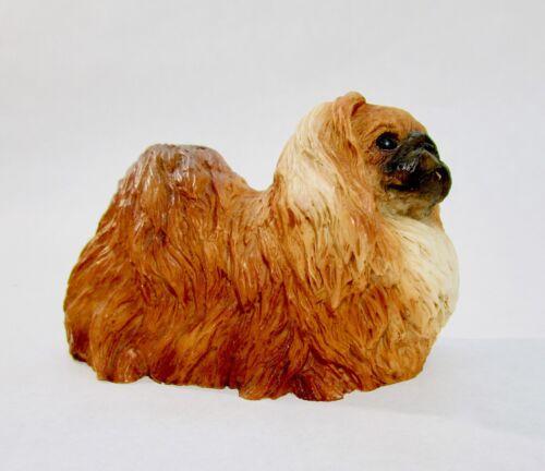 Vintage Castagna Pekingese dog figurine Italy