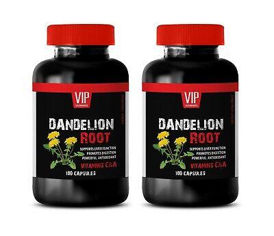 liver support herbs - DANDELION ROOT - antioxidant formula 2B 360CAPS