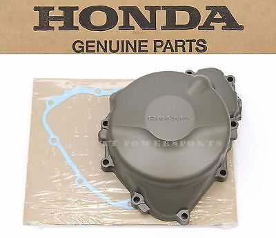 Honda Left Engine Case w/Gasket 99-06 CBR600F4 F4i Stator Alternator Cover #A91 ()
