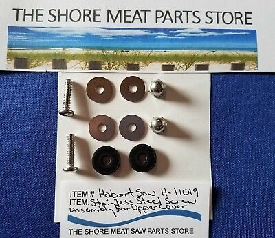 Upper Doorupper Cover Stainless Steel Screw Assembly For Hobart 5700 5701 5801