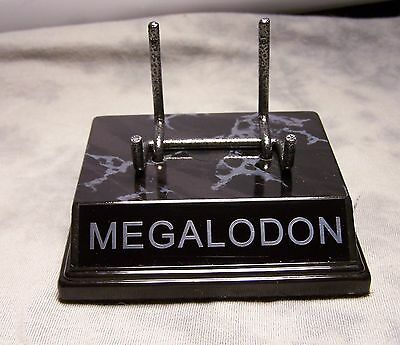 """THE ORIGINAL"" MEGALODON TOOTH DISPLAY STAND FOR MEGLADON FOSSIL SHARK TEETH"