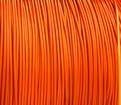 Orange 30 Awg Gauge Stranded Hook Up Wire 25 Ft Ul1007 300 Volt